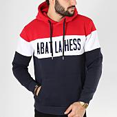 /achat-sweats-capuche/ohmondieusalva-sweat-capuche-abat-la-hess-logo-alternate-bleu-marine-blanc-rouge-163549.html