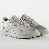 /achat-baskets-basses/reebok-baskets-femme-classic-nylon-txt-cn6685-grey-pink-gold-163474.html