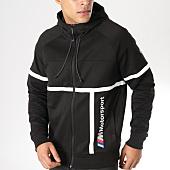 /achat-sweats-zippes-capuche/puma-sweat-capuche-zippe-bmw-mms-577788-noir-163619.html