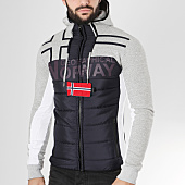 /achat-sweats-zippes-capuche/geographical-norway-sweat-capuche-zippe-gumix-bleu-marine-gris-chine-163639.html