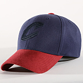 /achat-casquettes-de-baseball/mitchell-and-ness-casquette-cleveland-cavaliers-intl266-bleu-marine-bordeaux-163776.html