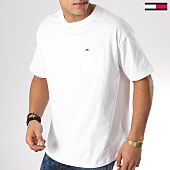 /achat-t-shirts-poche/tommy-hilfiger-jeans-tee-shirt-poche-classics-5512-blanc-163669.html