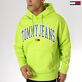 /achat-sweats-capuche/tommy-hilfiger-jeans-sweat-capuche-clean-collegiate-5911-vert-163671.html
