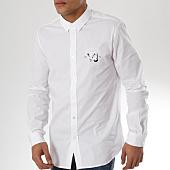 /achat-chemises-manches-longues/versace-jeans-chemise-manches-longues-tup202-b1gta6s0-blanc-163700.html