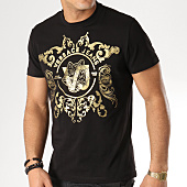 /achat-t-shirts/versace-jeans-tee-shirt-print-23-noir-dore-163752.html