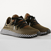 /achat-baskets-basses/adidas-baskets-deerupt-runner-bd7894-raw-kakhi-core-black-easy-orange-163857.html