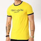 /achat-t-shirts/teddy-smith-tee-shirt-ticlass-3-jaune-163865.html