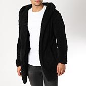 /achat-cardigans-gilets/uniplay-gilet-fourrure-avec-capuche-m002-noir-163909.html