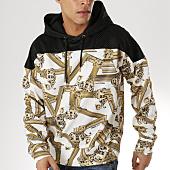 /achat-sweats-capuche/versace-jeans-sweat-capuche-tum306-b7gtb7f6-blanc-noir-163802.html
