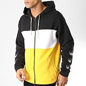 /achat-sweats-zippes-capuche/adidas-sweat-zippe-capuche-dv3144-noir-blanc-jaune-164069.html