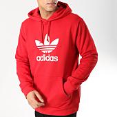 /achat-sweats-capuche/adidas-sweat-capuche-trefoil-dx3614-rouge-164074.html