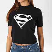 /achat-t-shirts/superman-tee-shirt-crop-femme-logo-noir-163968.html