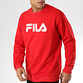 /achat-sweats-col-rond-crewneck/fila-sweat-crewneck-pure-681091-rouge-164028.html