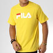 /achat-t-shirts/fila-tee-shirt-pure-681093-jaune-164037.html