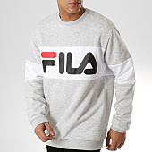 /achat-sweats-col-rond-crewneck/fila-sweat-crewneck-straight-block-681255-gris-chine-164039.html