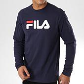 /achat-t-shirts-manches-longues/fila-tee-shirt-manches-longues-classic-pure-681092-bleu-marine-164076.html