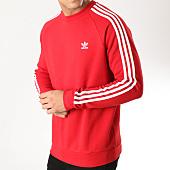 /achat-sweats-col-rond-crewneck/adidas-sweat-crewneck-3-stripes-dv1553-rouge-164216.html