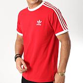 /achat-t-shirts/adidas-tee-shirt-3-stripes-dv1565-rouge-blanc-164221.html