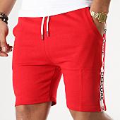 /achat-shorts-jogging/deeluxe-short-jogging-avec-bandes-puff-rouge-164116.html