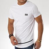 /achat-t-shirts-longs-oversize/deeluxe-tee-shirt-oversize-jett-s19-179-blanc-noir-164153.html