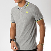 /achat-polos-manches-courtes/kappa-polo-manches-courtes-logo-esmano-303g7w0-gris-chine-164186.html