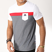 /achat-t-shirts/kappa-tee-shirt-authentic-ido-304piy0-blanc-rouge-noir-chine-164193.html