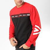 /achat-sweats-col-rond-crewneck/umbro-sweat-crewneck-697330-60-rouge-noir-164204.html