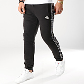 /achat-pantalons-joggings/umbro-pantalon-jogging-a-bandes-fleece-697380-60-noir-164205.html
