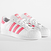 /achat-baskets-basses/adidas-baskets-femme-superstar-cg6608-footwear-white-real-pink-164269.html