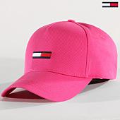/achat-casquettes-de-baseball/tommy-hilfiger-jeans-casquette-flag-0366-rose-164242.html