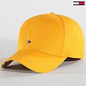 /achat-casquettes-de-baseball/tommy-hilfiger-jeans-casquette-femme-print-6181-jaune-164244.html