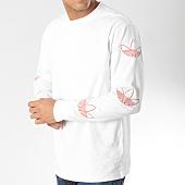 /achat-t-shirts-manches-longues/adidas-tee-shirt-manches-longues-trefoil-dv3151-blanc-orange-164319.html