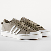 /achat-baskets-basses/adidas-baskets-nizza-cm8572-brown-footwear-white-crystal-white-164324.html
