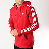 /achat-sweats-zippes-capuche/adidas-sweat-zippe-capuche-3-stripes-dv1635-rouge-blanc-164446.html