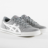 /achat-baskets-basses/asics-baskets-aaron-hn528-1101-stone-grey-white-164406.html