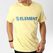 /achat-t-shirts/element-tee-shirt-blazin-jaune-164426.html