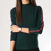 /achat-pulls/girls-only-pull-femme-avec-bandes-aw826-vert-164394.html