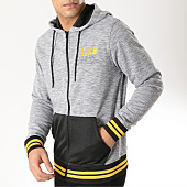 /achat-sweats-zippes-capuche/jack-and-jones-sweat-zippe-capuche-armano--noir-gris-chine-164371.html