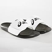 /achat-claquettes-sandales/asics-claquettes-as002-p71ns-9001-noir-blanc-164388.html