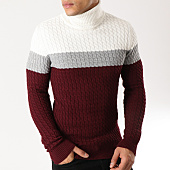 /achat-pulls/classic-series-pull-3189-bordeaux-gris-chine-ecru-164479.html