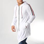 /achat-vestes/john-h-veste-zippee-capuche-oversize-avec-bandes-989-1-blanc-164553.html