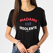 /achat-t-shirts/kaporal-tee-shirt-femme-facto-noir-164494.html