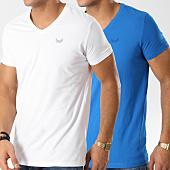 /achat-t-shirts/kaporal-lot-de-2-tee-shirts-gift-bleu-roi-blanc-164498.html