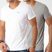 /achat-t-shirts/kaporal-lot-de-2-tee-shirts-gift-blanc-gris-chine-164499.html