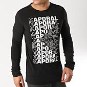 /achat-t-shirts-manches-longues/kaporal-tee-shirt-manches-longues-mivad-noir-164504.html
