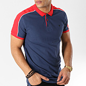 /achat-polos-manches-courtes/kaporal-polo-manches-courtes-nabib-bleu-marine-rouge-blanc-164508.html