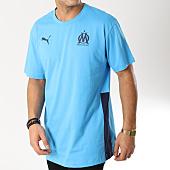 /achat-t-shirts/puma-tee-shirt-om-mms-bleu-clair-164533.html