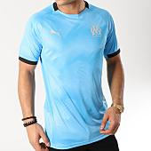 /achat-t-shirts/puma-tee-shirt-de-sport-om-graphic-jersey-754654-bleu-clair-164541.html
