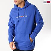 /achat-sweats-capuche/tommy-hilfiger-jeans-sweat-capuche-small-logo-5146-bleu-roi-164452.html