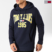 /achat-sweats-capuche/tommy-hilfiger-jeans-sweat-capuche-essential-graphic-5289-bleu-marine-164453.html